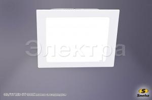 00206-9.0-001LF LED 6W WT 4000K Панель светодиодная