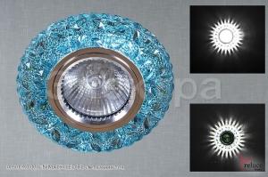 00501-9.0-001CN MR16+LED BL