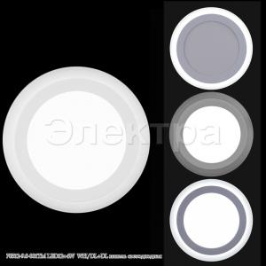 70512-9.0-001TM LED12+4W WH/DL+DL панель светодиодная