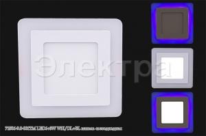71506-9.0-001TM LED6+3W WH/DL+BL панель светодиодная