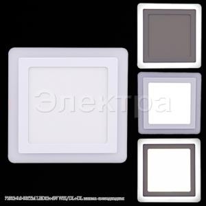 71512-9.0-001TM LED12+4W WH/DL+DL панель светодиодная
