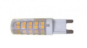 LED G9 220V/8W 3000K ЛАМПА СВЕТОДИОДНАЯ ТЕПЛЫЙ СВЕТ