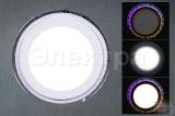39126-9.0-001QP LED12+6W RGB панель светодиодная с ПДУ