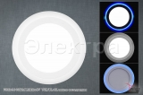 70512-9.0-001TM LED12+4W WH/DL+BL панель светодиодная