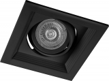 DLT201 Черный G5.3 Светильник карданный